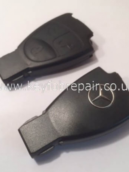 Mercedes 3 Button Key Case Shell B C E S Class CLK CLS SLK Etc